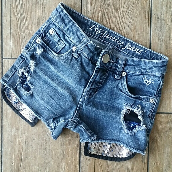 Justice Other - 🎁HP 4/22🎁JUSTICE BLING JEAN SHORT